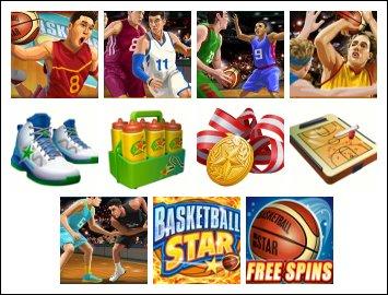Basketball Star Online Slots Bonus Game