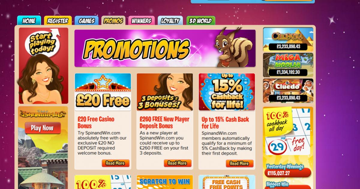 No Deposit Free Bonus Slots