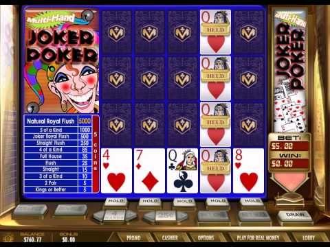 Hand Joker Poker FREE Casino GAMES | USA No Deposit Casino Games
