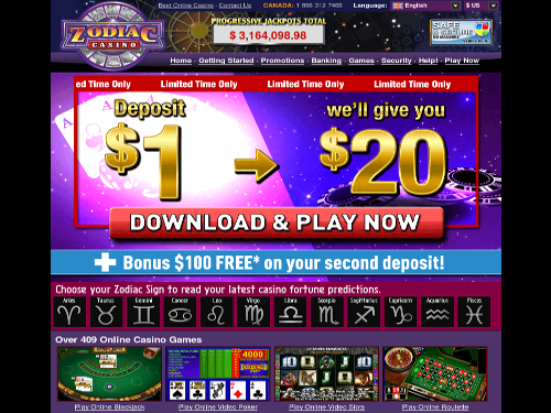 play for only $ 1 deposit $ 1 and we will give you $ 20 free that s a