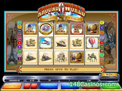 the release of a new Flash game titled Around the World Slot