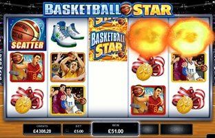 Basketball Star Slot Information: