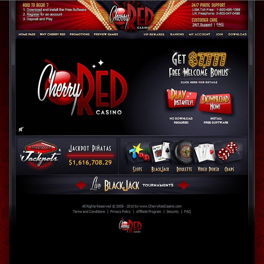 Cherry Red Bonus Codes