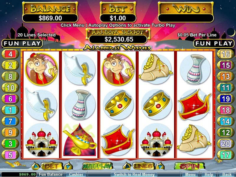 Aladdins Gold Casino No Deposit Bonus Codes free spins review June