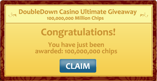 100,000,000 Double Down Casino Promo Code