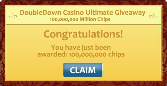 100,000,000 Double Down Casino Promo Code