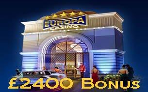 Casino Get £/$ 2400 Sign up Bonus and £/ FREE EuropaCasino Bonus