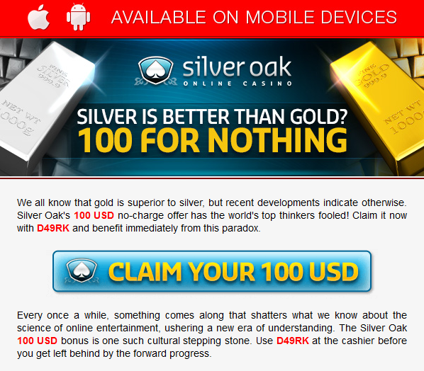 Free Online No Deposit Casino Bonus Codes