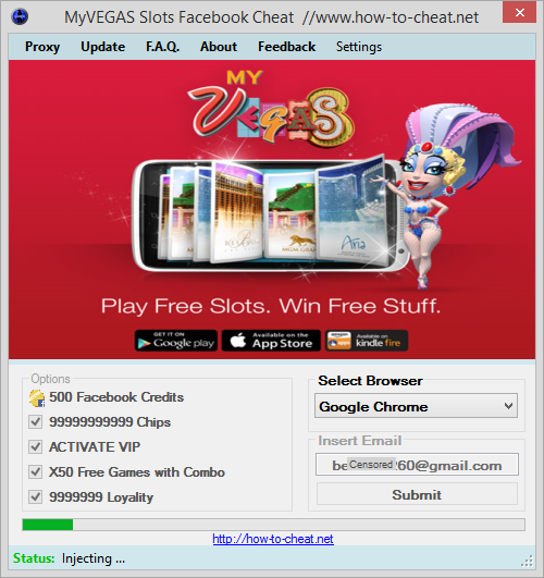 MyVEGAS Slots Facebook Successfully Cheated