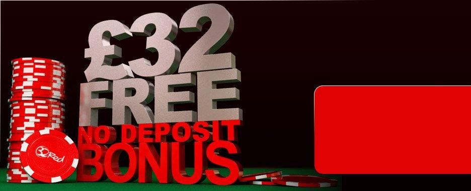 ё32 Free - No Deposit Bonus