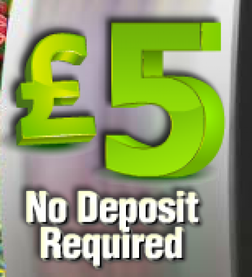 Slots for free and they'll give you a free fiver to play with