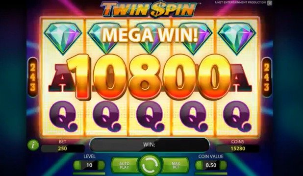TWIN SPIN by NetEnt Casino | review, free spins, bonus