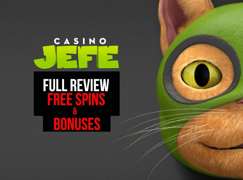 full Casino Jefe Free Spins on deck including no deposit free spins