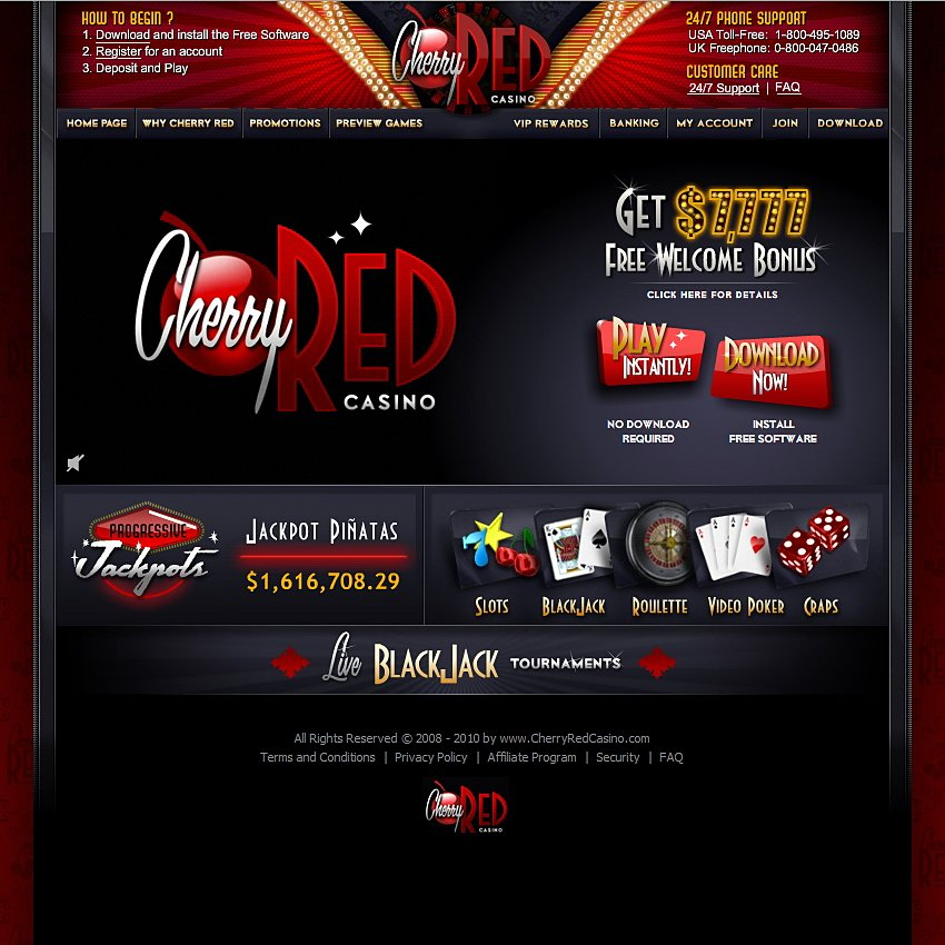 Lucky Red Casino Bonus 2019
