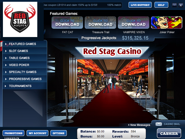 Red Stag Casino review & RedStag Casino no deposit bonus code in2017