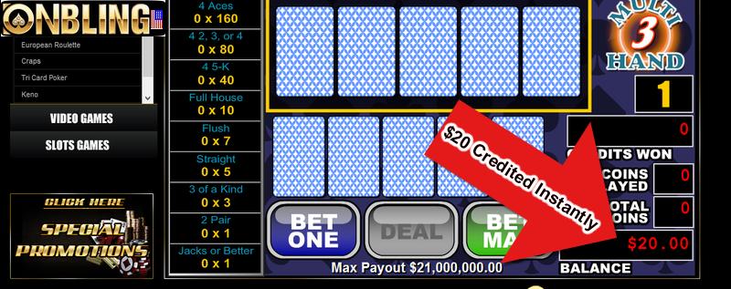 New Online Casinos With No Deposit Bonuses In2017
