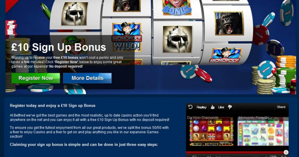 Free Gambling Games No Deposit
