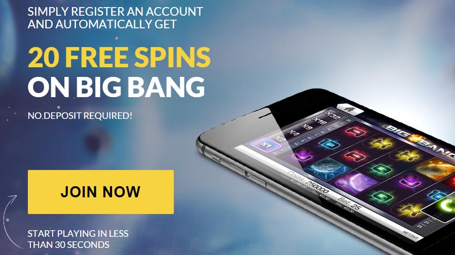 Guts Casino - 20 Free Spins No Deposit - SnazzySlots.com