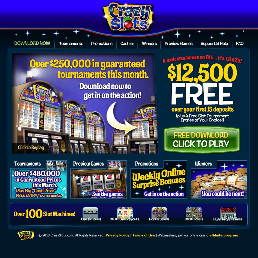 best online casino bonus us