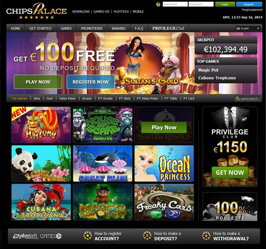 Chips Palace Casino | No Deposit Bonus Blog