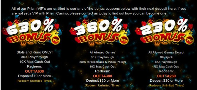 PRISM CASINO |Rtg No Deposit Bonus Codes July2017 |No deposit663