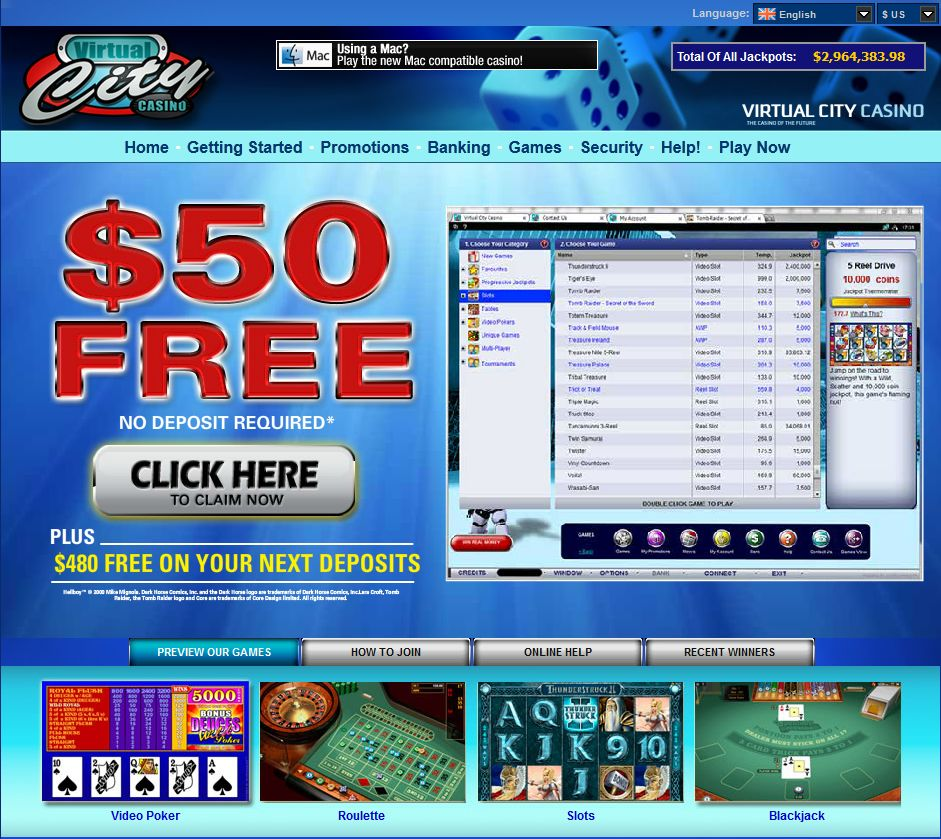 free no deposit bonus for online casinos
