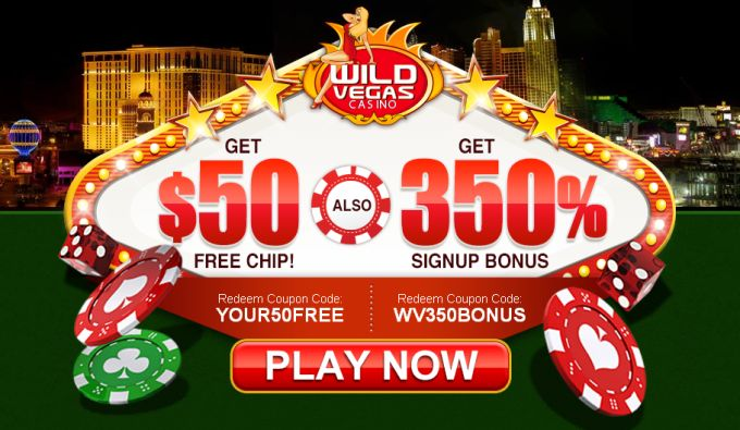Wild Vegas Casino Bonus Code 2017